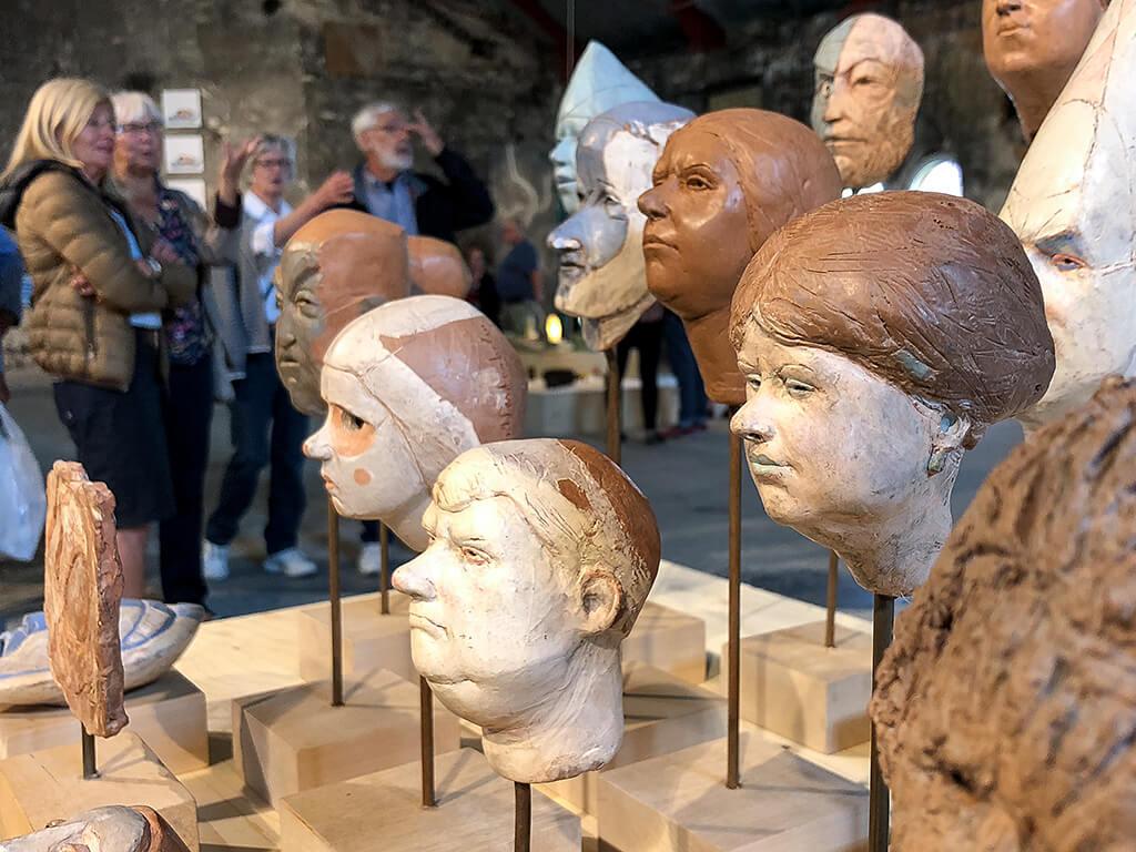 Skulpturer av Sam Westerholm