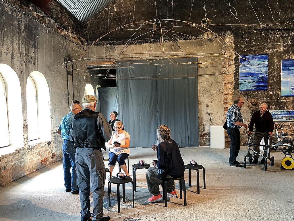 Installation av Ulla Hägglund och Johanna Lundin